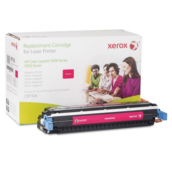 Xerox Remanufactured HP C9733A Magenta Toner Cartridge