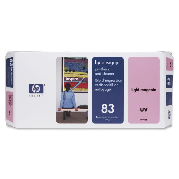 HP 83 UV Magenta Printhead & Cleaner (C4965A)