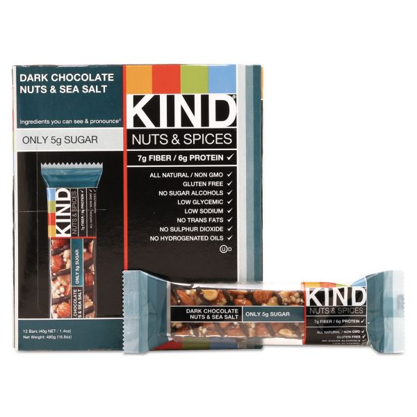 KIND Nuts and Spices Bar