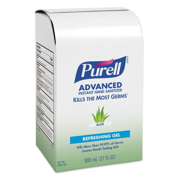 Purell Bag-In-Box Instant Hand Sanitizer Refills with Aloe