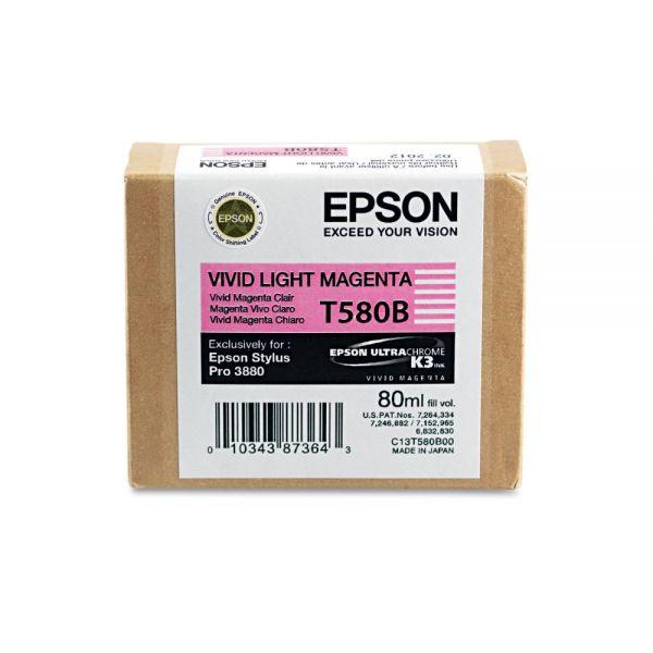 Epson T580B Vivid Light Magenta Ink Cartridge (T580B00)
