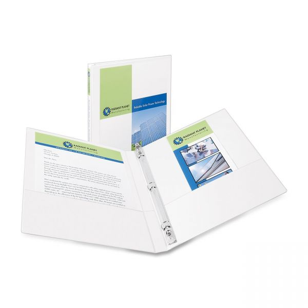 "Avery Showcase Reference 1/2"" 3-Ring View Binder"