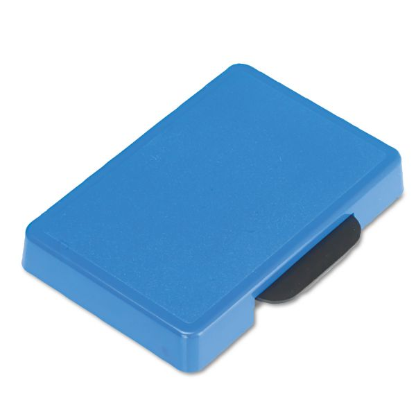 Identity Group Trodat T5460 Dater Replacement Ink Pad, 1 3/8 x 2 3/8, Blue