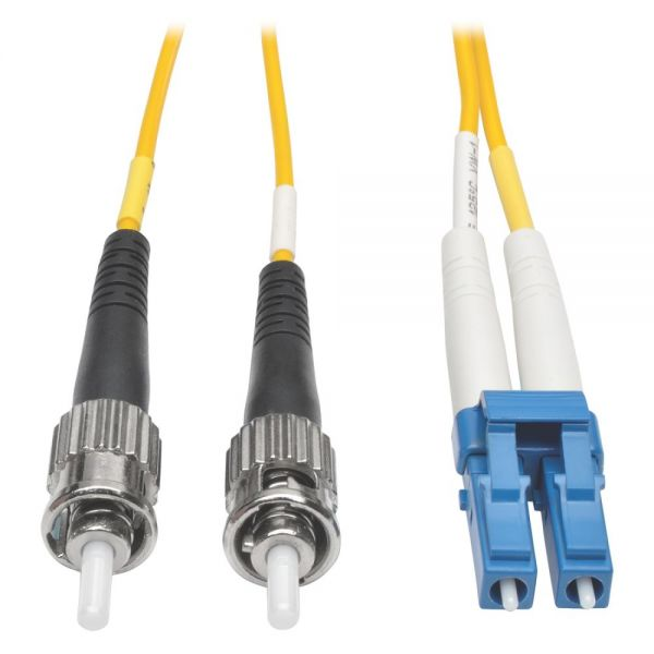 Tripp Lite 5M Duplex Singlemode 8.3/125 Fiber Optic Patch Cable LC/ST 16' 16ft 5 Meter