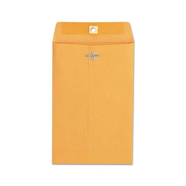Universal Kraft Clasp Envelope, 28lb, #55, 6 x 9, Brown Kraft, 100/Box