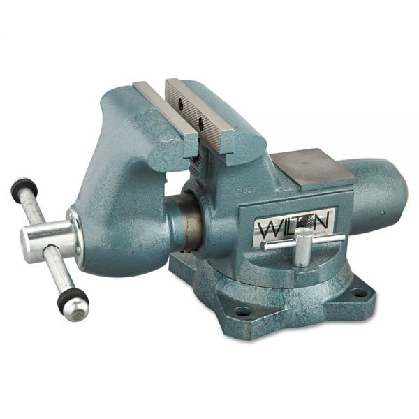 "Wilton Vise, Cast Iron, Tradesman, 6 1/2"" Jaw Opening, 6 1/2"" Jaw Width, 70.95lbs"
