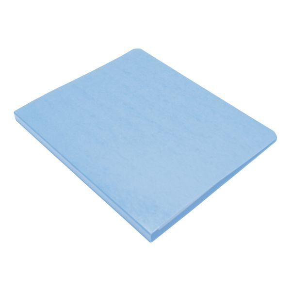 "Wilson Jones PRESSTEX Grip Binder, 5/8"" Cap, Light Blue"