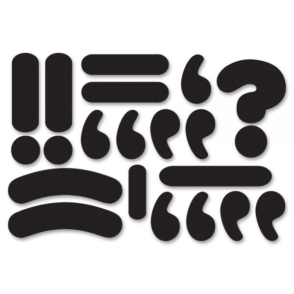 Ashley Magnetic Die-cut Punctuation Marks