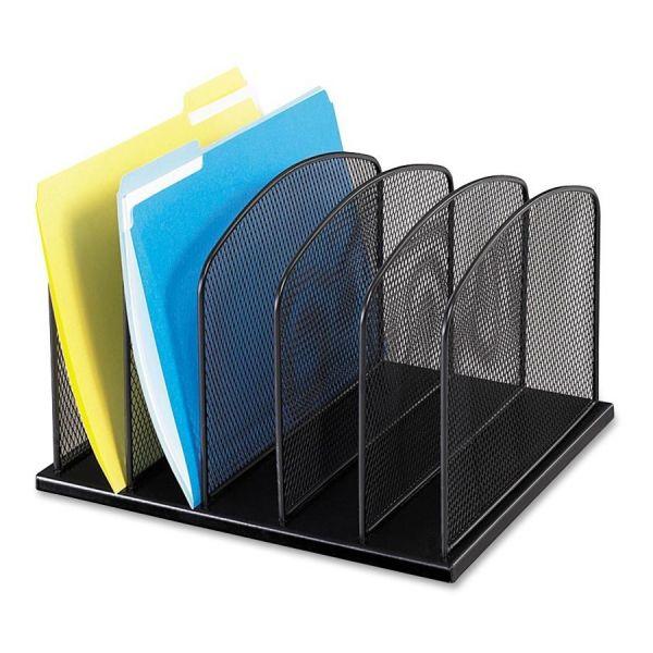 Safco Mesh Vertical File Desk Organizer
