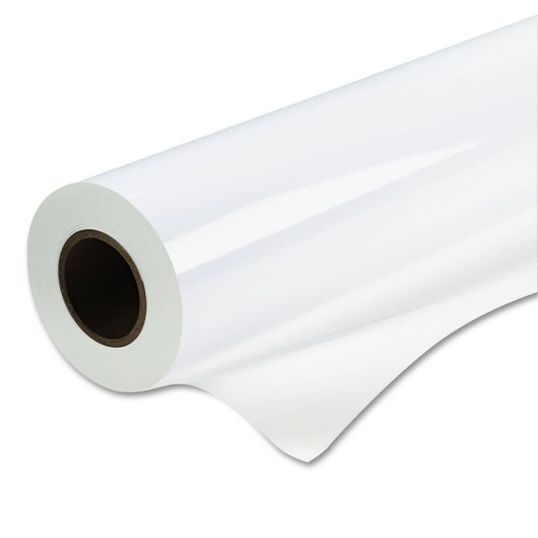"Kodak Water-Resistant Removable Vinyl Paper, 60""w, 60'l, White, Roll"