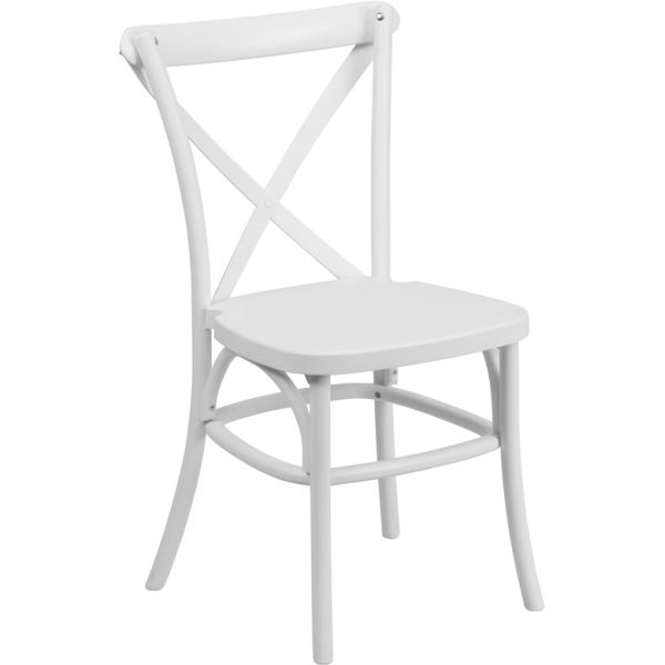 Flash Furniture Indoor-Outdoor Cross Back Chair