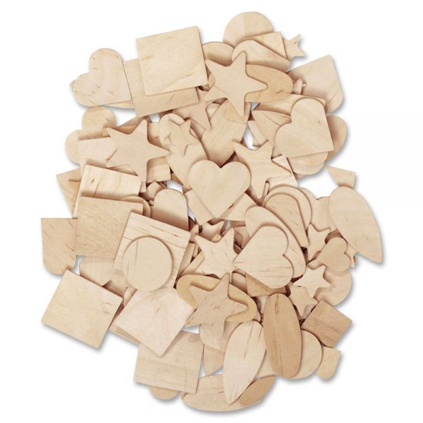 Creativity Street Natural Wooden Shapes