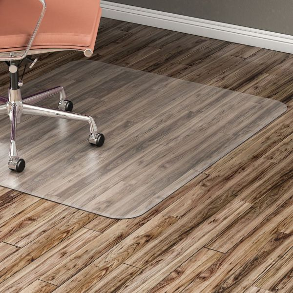 Lorell Nonstudded Design Hard Floor Chair Mat