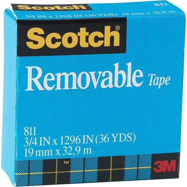 "Scotch Removable 3/4"" Invisible Tape Refill"