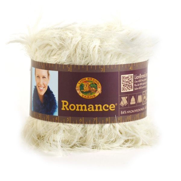 Lion Brand Romance Yarn - Antique Lace