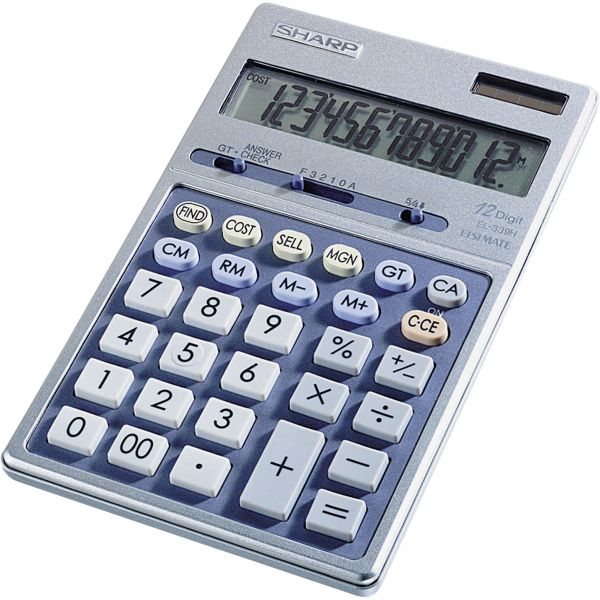 Sharp Calculators Sharp EL339HB Desktop Display Calculator