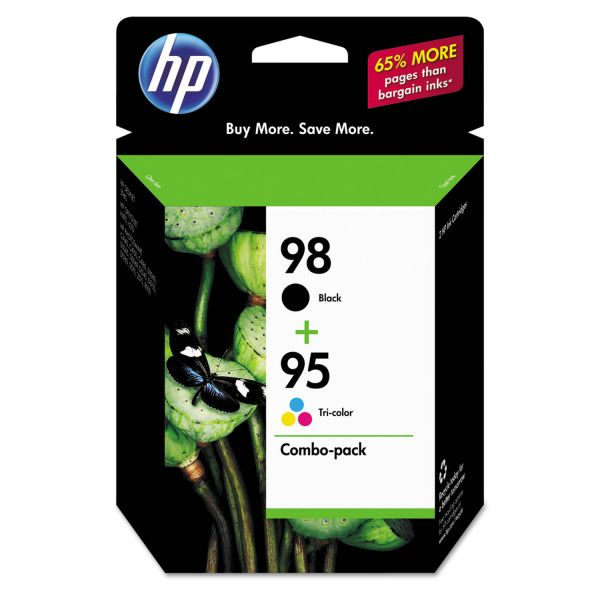 HP 98/95 Combo Pack Ink Cartridges (CB327FN)