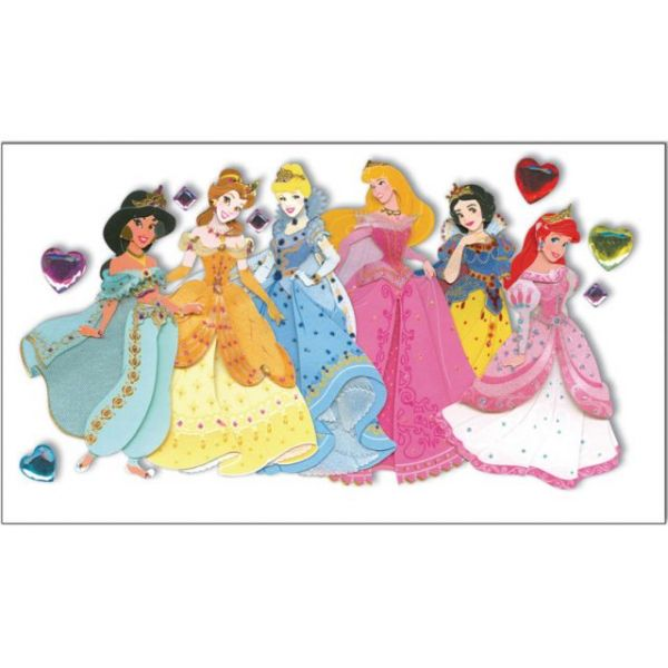 Disney Le Grande Jewel Dimensional Stickers
