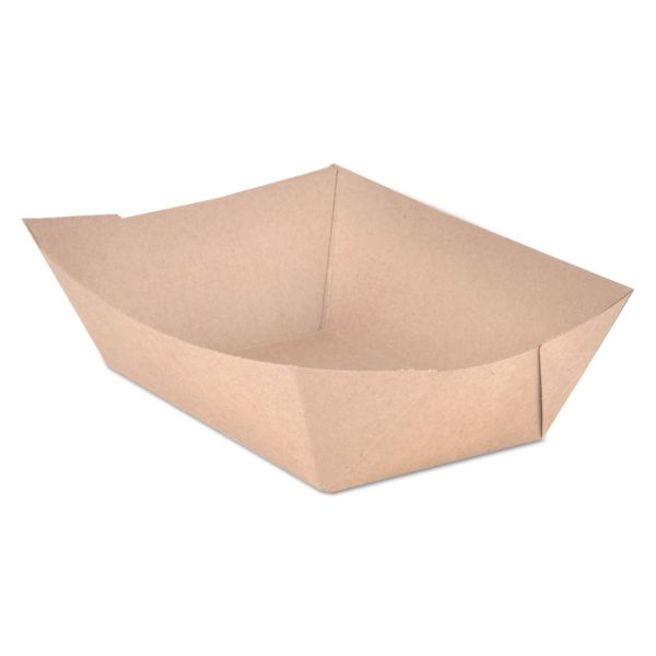 SCT 3 lb Paper Food Trays
