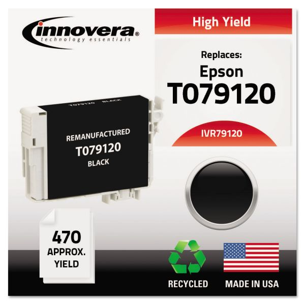 Innovera Remanufactured Epson T079120 High-Yield Ink Cartridge