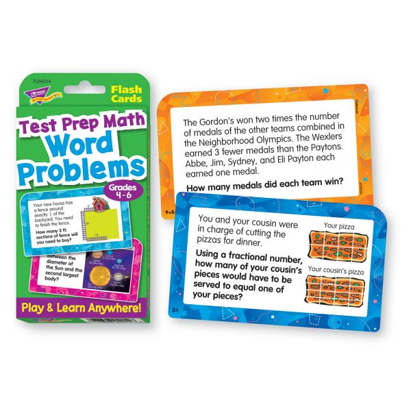 Trend Math Challenge Cards