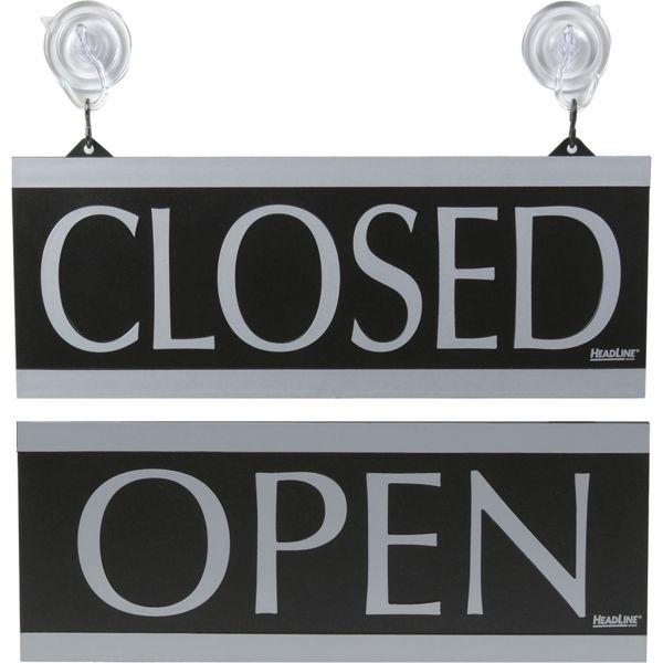 HeadLine Century Series Open /Closed Sign