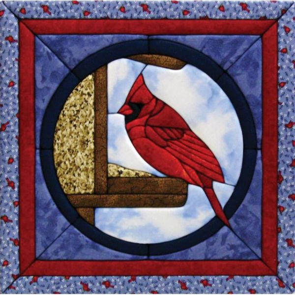 Cardinal Quilt Magic Kit