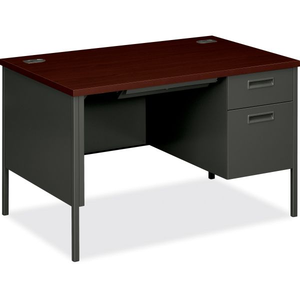 HON Metro Classic Single Pedestal Computer Desk