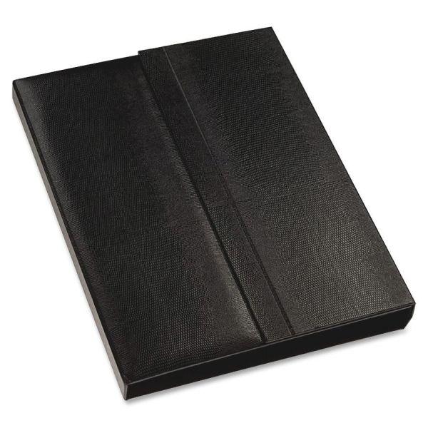 Blueline i-Pal Notes, iPad Case/Easel/Notepad Holder, Lizard, Black