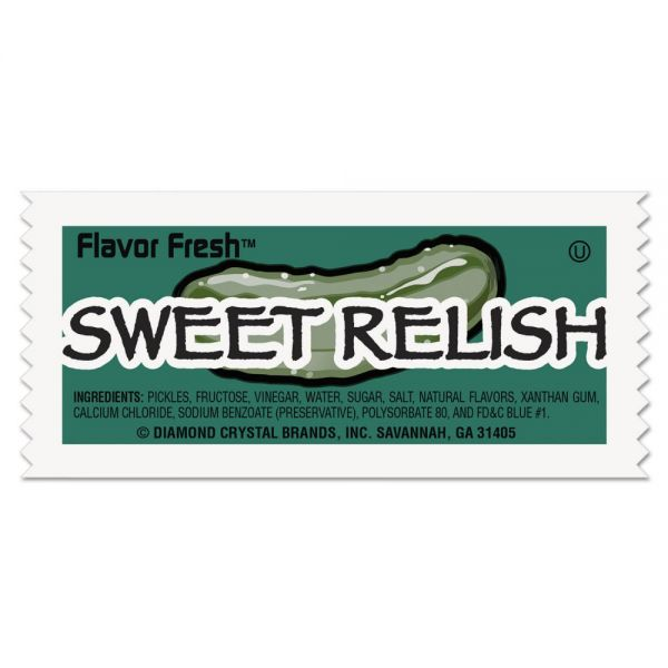Diamond Crystal Flavor Fresh Relish Packets