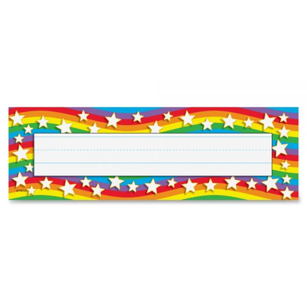 Trend Star Rainbow Desk Name Plates