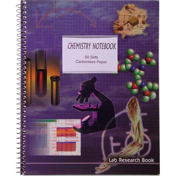 Roaring Spring Chemistry Notebook - Letter