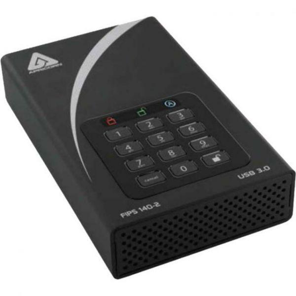 "Apricorn Aegis Padlock 4 TB 3.5"" Desktop External Hard Drive"