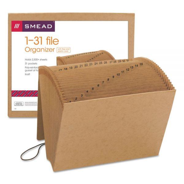 Smead Kraft 1-31 Expanding File