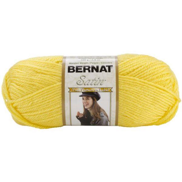 Bernat Satin Yarn - Dandelion