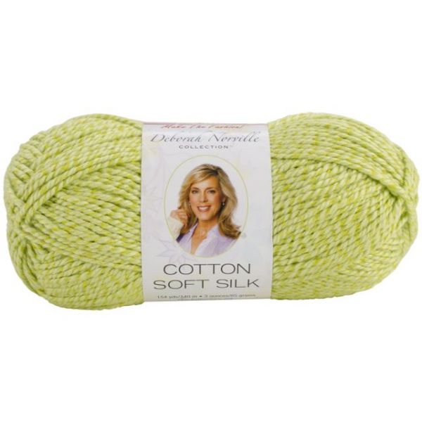 Deborah Norville Cotton Soft Silk Yarn - Lime