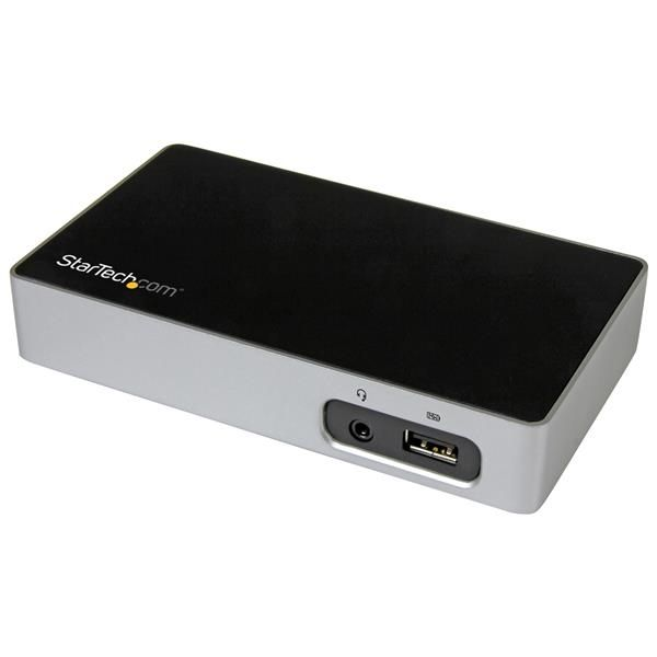 StarTech.com USB Docking Station with DVI - Compatible with Windows / macOS - Supports a Single DVI Display - USB3VDOCKD