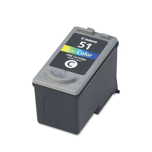Canon CL-51 Color High Yield Ink Cartridge (0618B002)