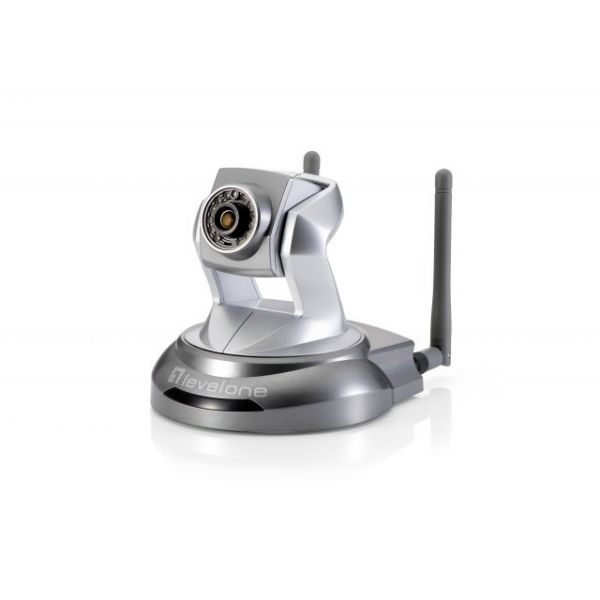 LevelOne 5-MP WCS-6050 Wireless N 150Mbps P/T IP Camera (Day/Night/Indoor)