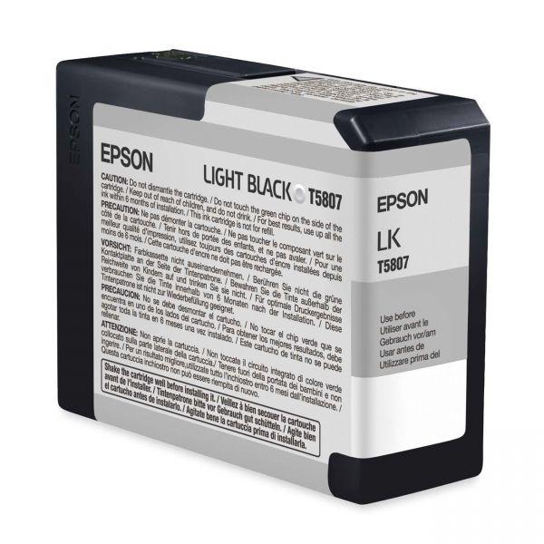Epson T5807 Light Black Ink Cartridge