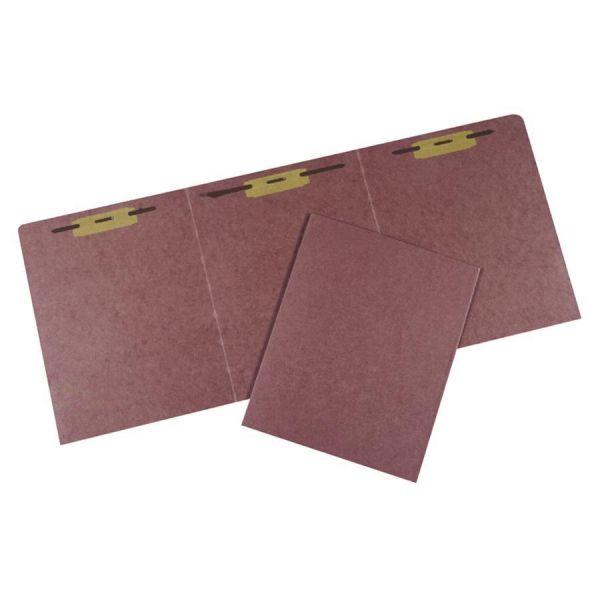 SKILCRAFT Tri-Fold File Folders With Fasteners