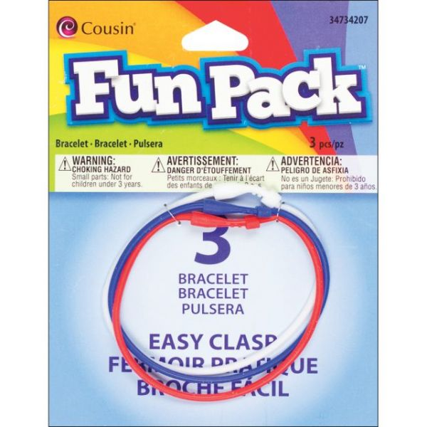 Cousin Fun Pack Easy Clasp Bracelets