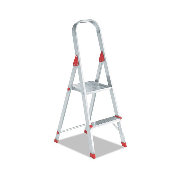 Louisville #566 Folding 2-Step Aluminum Euro Platform Ladder