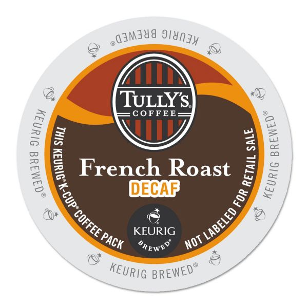 Tully's Coffee French Roast Decaf Coffee K-Cups