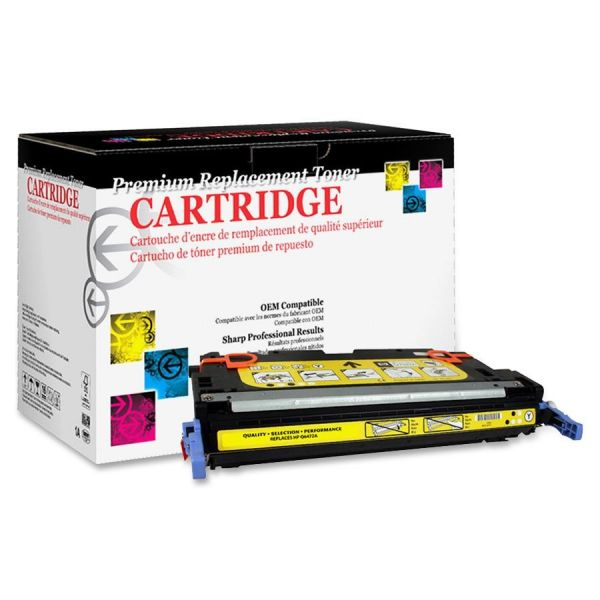 West Point Products Remanufactured HP Q6472A Yellow Toner Cartridge