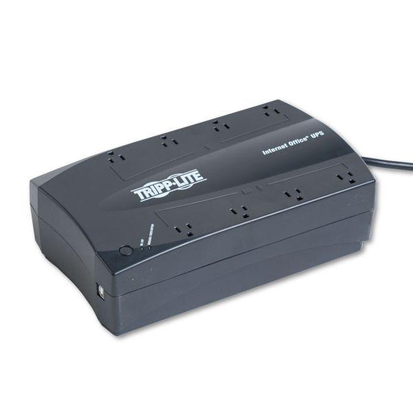 Tripp Lite UPS 750VA 450W Desktop Battery Back Up Compact 120V USB RJ11 PC