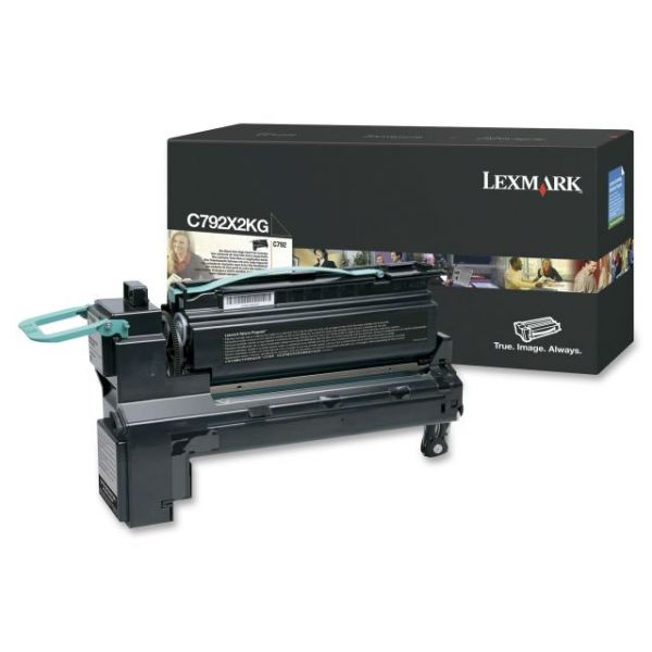 Lexmark C792X2KG Toner Cartridge - Black