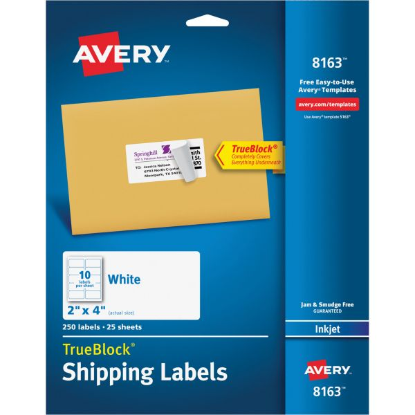 Avery 8163 Shipping Labels