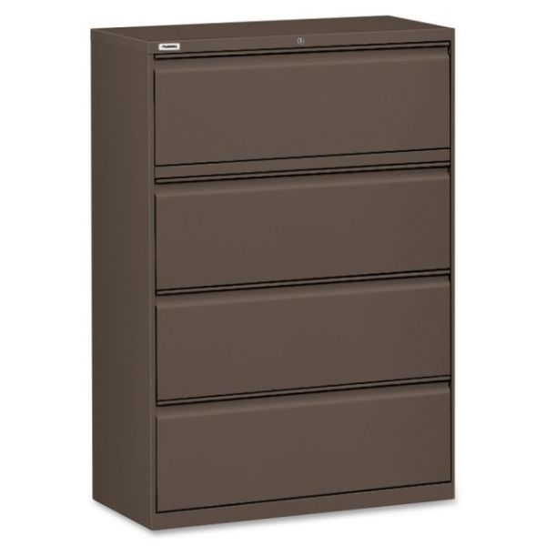 Lorell Fortress Series 4 Drawer Lateral File Cabinet