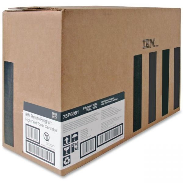 IBM 75P6961 Black High Yield Return Program Toner Cartridge